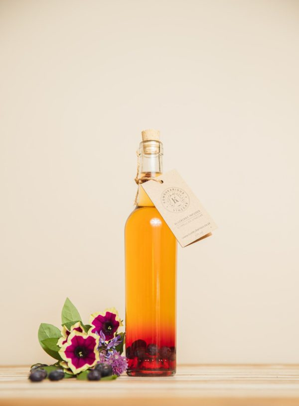 Blueberry Infused Vinegars