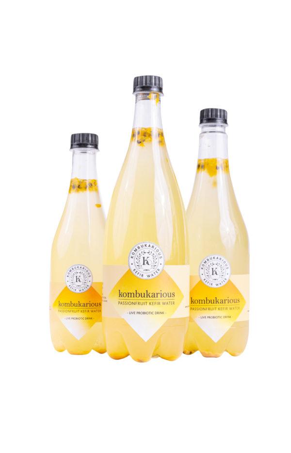 Kefir passionfruit probiotic-drink