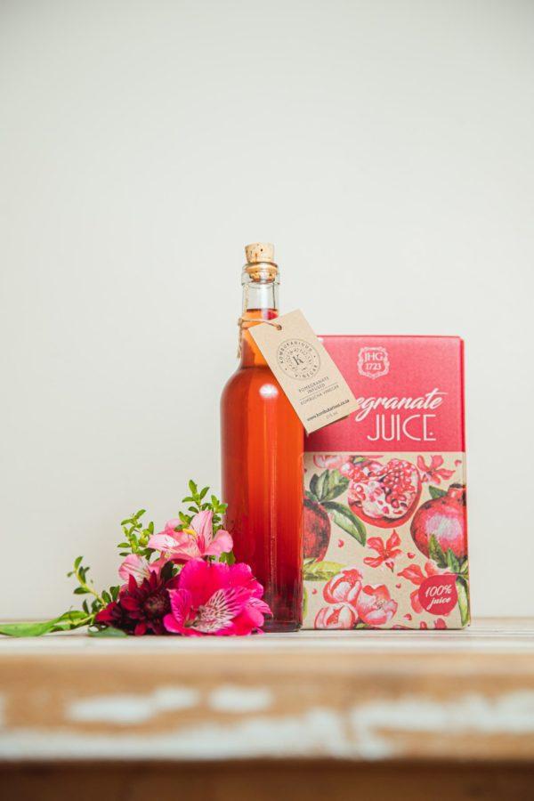 Pomegranate Infused Vinegars