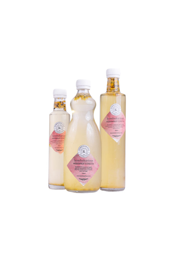kombucha passionfruit-drinks live-probiotics
