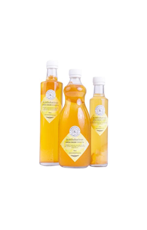 kombucha gut-health lemon-drinks